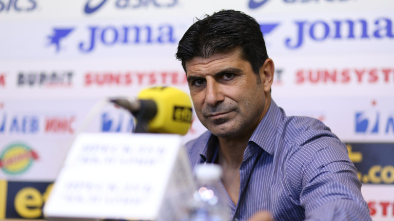 Гонзо: Във футбола ни противоепидемичните мерки са изключително строги