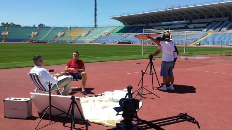 Емил Костадинов си казва всичко за юбилея