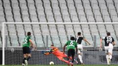 Две дузпи на Роналдо спасиха Ювентус от домакинска загуба срещу Аталанта