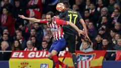Атлетико (Мадрид) прати Ювентус в нокдаун с два гола на защитници в края, Роналдо зрител