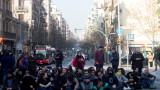 Стачка парализира пътищата в Каталуния