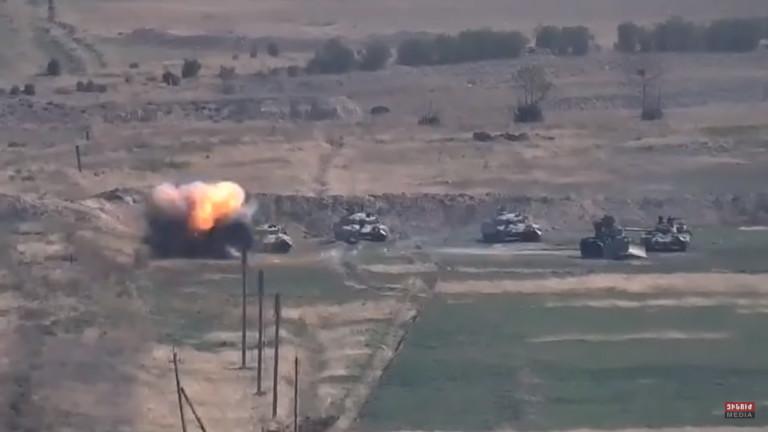 Военен сблъсък в Южен Кавказ, а Русия и Турция са от двете страни