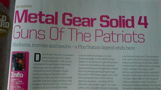 Дадоха 10/10 на Metal Gear Solid 4 в първото му ревю (галерия и видео)