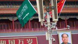 Принц Салман намекна, че защитава концентрационните лагери на Китай