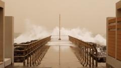 Пясъчна буря удари Канарските острови
