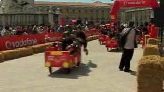 Състезание с канапета се проведе в Лисабон (видео)