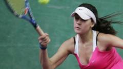 Джулия Терзийска загуби на финала на двойки в Намаган