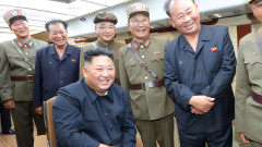 Ким чен Ун наблюдавал поредния ракетен тест в КНДР