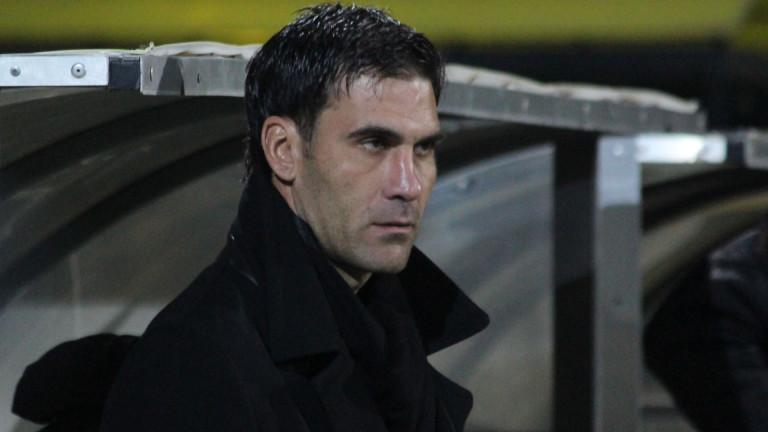 Старши треньорът на Литекс Живко Желев бе доволен от представянето
