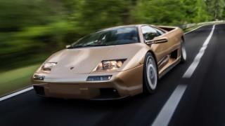 Lamborghini Diablo - мокър сън, бленуван плакат на стената или един суперавтомобил на 30
