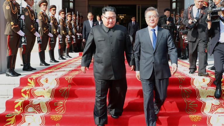 Президентът на Южна Корея Мун Дже-ин обяви, би могло да