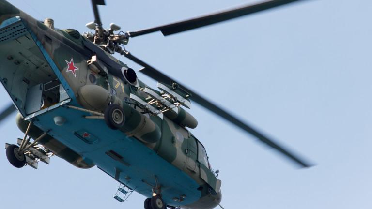 Хеликоптер Mи-8 на руските въздушно-космически сили (както руските власти наричат