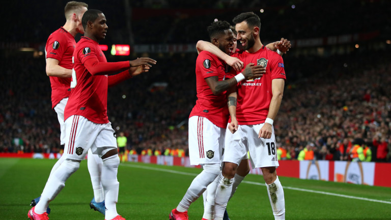 Манчестър Юнайтед разби тимът на Брюж с 5:0 в двубой