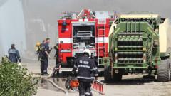Пожарът в месокомбината във Велико Търново е тръгнал от късо съединение