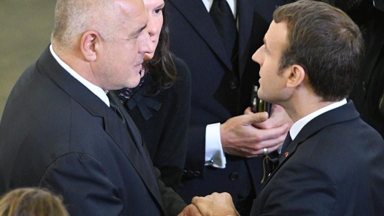 Пристигането на френския президент Еманюел Макрон у нас е сред