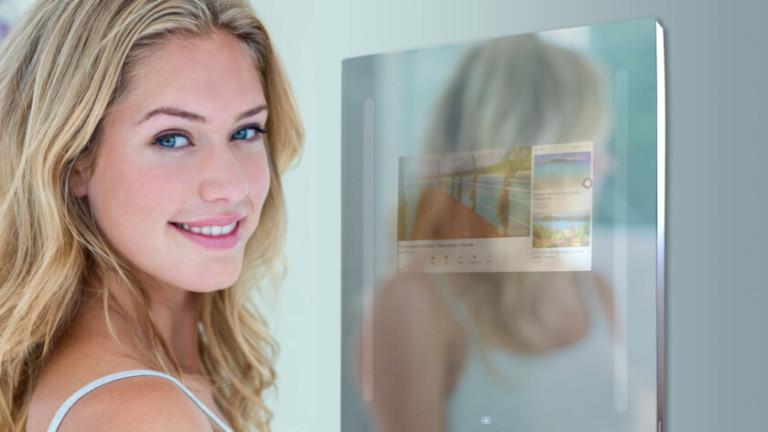 Android влиза в банята ни през тъч-огледало