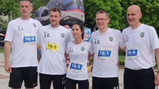 Валдас Дамбраускас трети на маратон