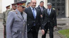 За състоянието на армията ни Радев обвини политическата недалновидност