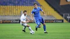 Фитнес тест определя игровите минути на Вутов срещу Лудогорец