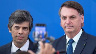 Втори здравен министър в Бразилия подава оставка за по-малко от месец