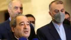 Иран и Сирия решени да задълбочават партньорството си