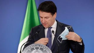 Конте: Италия се нуждае от нови ограничения през празниците, за да избегне третата вълна Covid-19