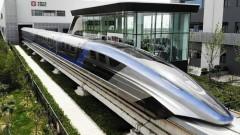 Китай показа влак, развиващ скорост от 600 км в час