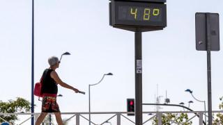 В Сицилия регистрираха най-високата температура в историята на Европа
