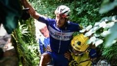 """Филип Жилбер напуска """"Тур дьо Франс"""" 2018 след вчерашното зрелищно падане"""