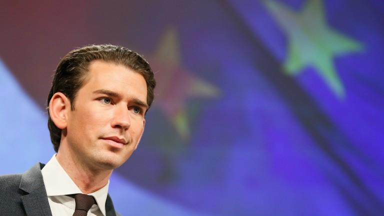 Курц иска Австрия да е посредник между Изтока и Запада в ЕС