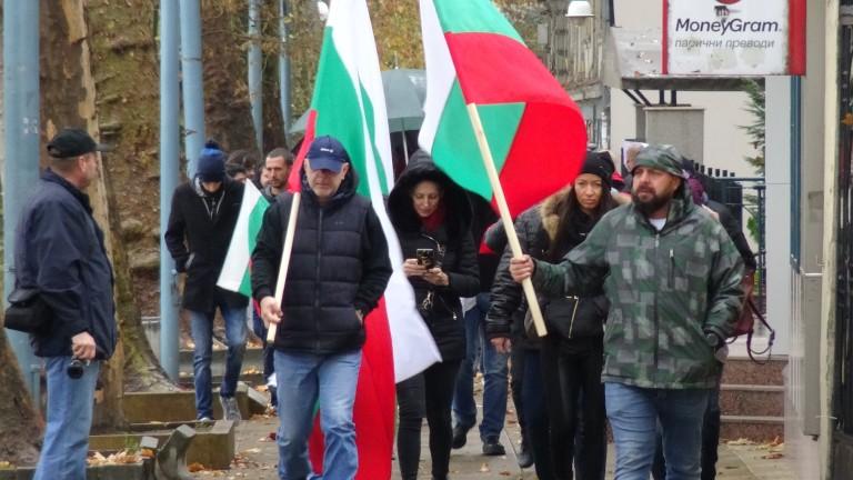 Започнаха протестите в страната срещу цените на горивата и ниския