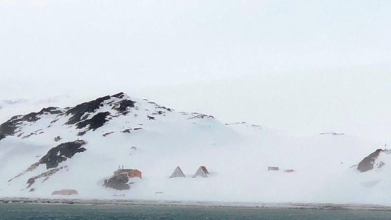Преди час корабът на One Оcean Expedition хвърли котва в