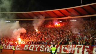 Цървена звезда стана шампион на Сърбия и Черна гора