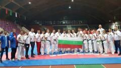 Националите по киокушин с четири златни медала в Беларус