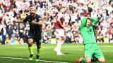"""Серхио Агуеро измъкна Ман Сити срещу Бърнли, """"гражданите"""" отново на върха във Висшата лига"""