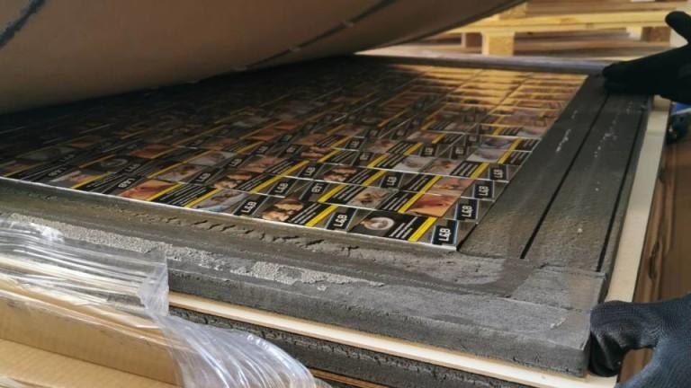 2325 кутии (46 500 къса) цигари при четири проверки задържаха
