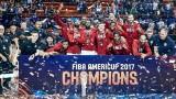 САЩ станаха шампион на Америка по баскетбол