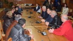 Кметът на Бургас обеща алтернативна заетост на безработни миньори