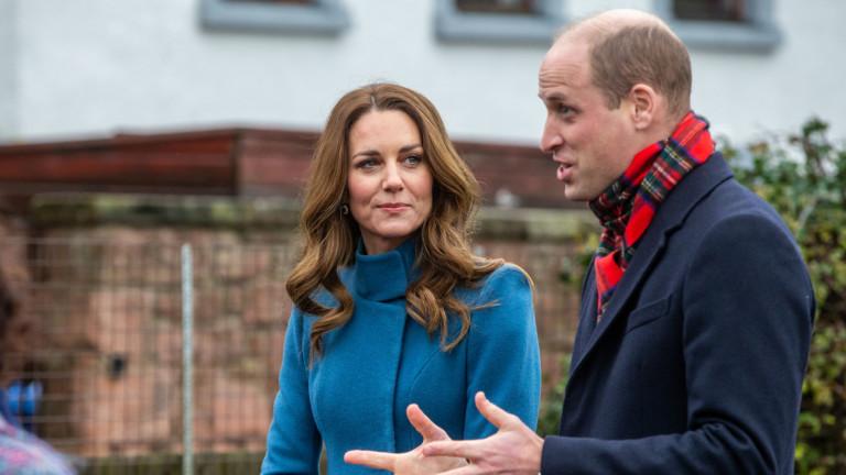 Уилям и Кейт пак нарушиха правилата