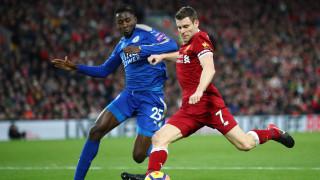 Ливърпул обърна Лестър след два фамозни гола на Мохамед Сала