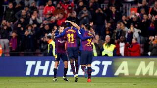 Барселона продължава победния си марш в Испания