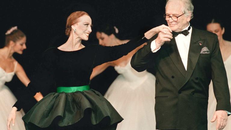 Почина френската легенда в модата Пиер Карден