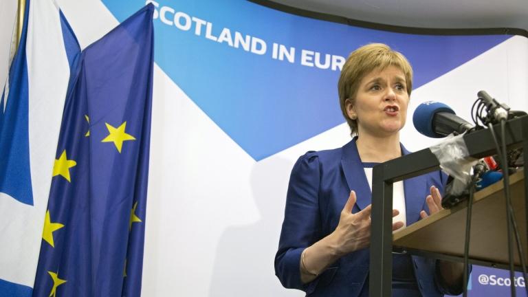 Никола Стърджън стартира нова инициатива за независимост на Шотландия