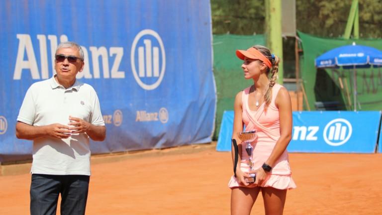 Виктория Томова е под №139 в ранглистата на WTA, изкачвайки
