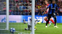 Атлетико (Мадрид) се изпоти, но победи Брюж у дома