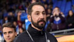 Треньорът на Еспаньол: Лудогорец даде най-доброто с двама души по-малко