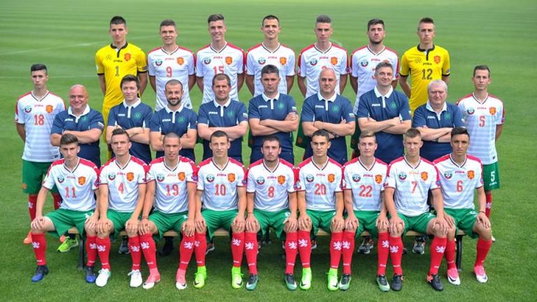 Селекционерът на националния отбор на България до 18 години -