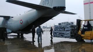 """Изпратихме два самолета """"Спартан"""" с хуманитарна помощ за Хърватия"""