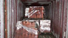 Трейдърска компания получила боядисани павета вместо мед за $36 млн.