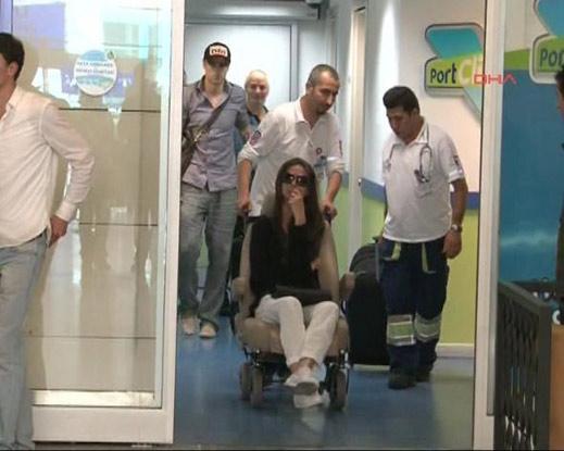Елена на Бербо в инвалидна количка в Истанбул (Видео)